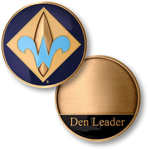 Webelos Cub Scouting Boy Scouts of America Bronze Challenge Coin BSA