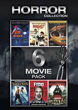 6 Movie NEW DVD SET (Blood Diner [uncut], Sundown: The Vampire in Retreat, Fido)