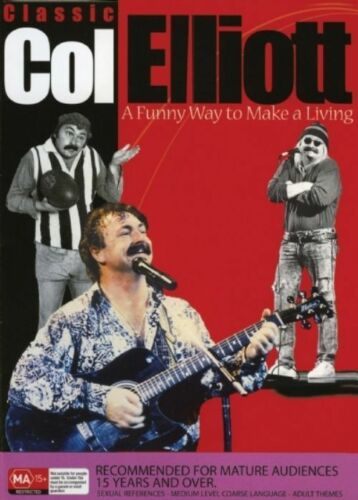 1 of 1 - Col Elliott - A Funny Way To Make A Living! (DVD, 2005)-FREE POSTAGE