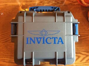Invicta-watch-dive-case-3-slot-Gray-with-blue