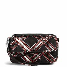 Vera Bradley Factory Exclusive All In One Crossbody in Minsk Plai