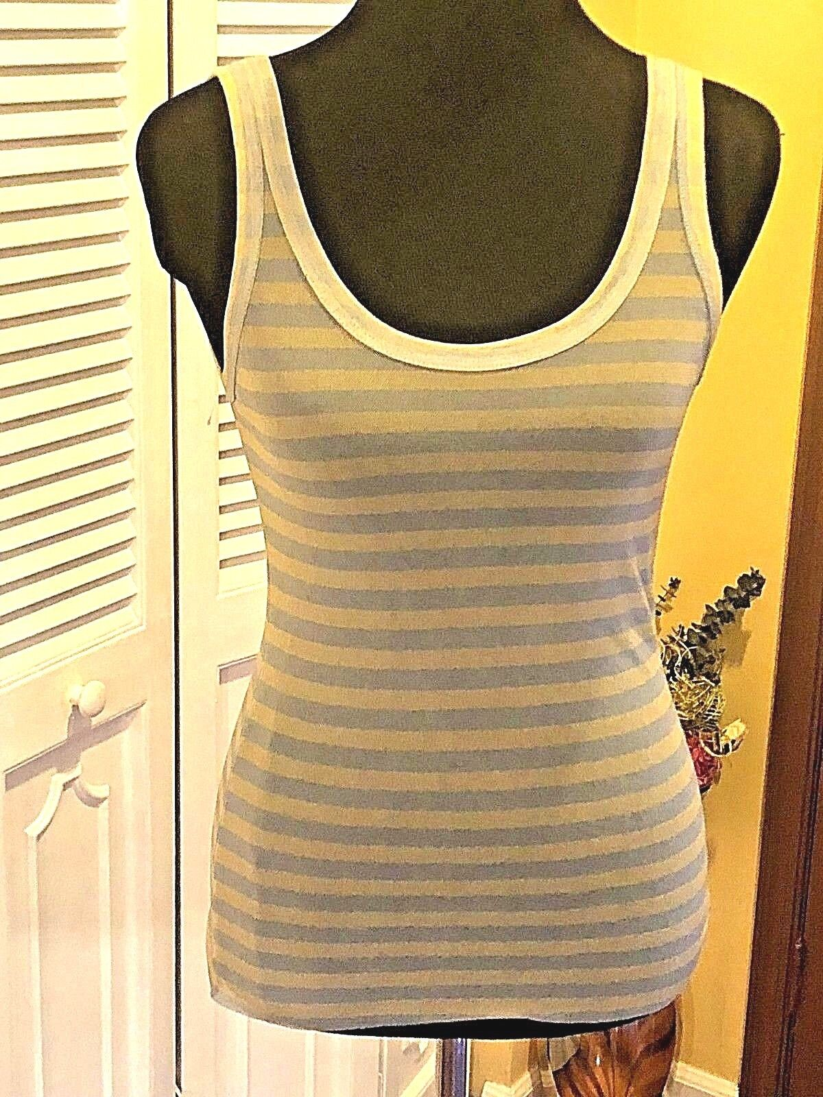 Fuzzi Nylon Multi-Farbe Striped Tank NWT - Größe Medium