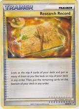 x4 Research Record - 84/95 - Uncommon Pokemon Call of Legends M/NM English