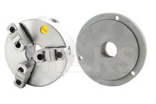 6 3 Jaw Reversible Jaw Self Center Lathe Chuck 2 14 8 Back Plate Tir Cert L