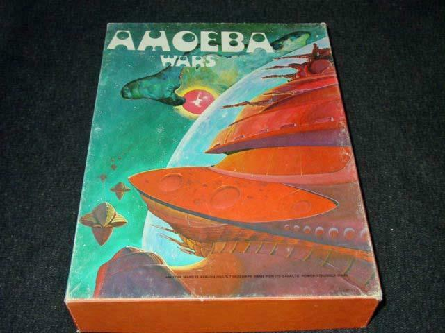 Avalon Hill 1981 - Amoeba Wars - Game of Galactic Conquest (UNPUNCHED)