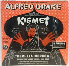 """Alfred Drake - Excerpts from Kismet 7"""" EP Doretta Morrow Broadway OST Philips"""