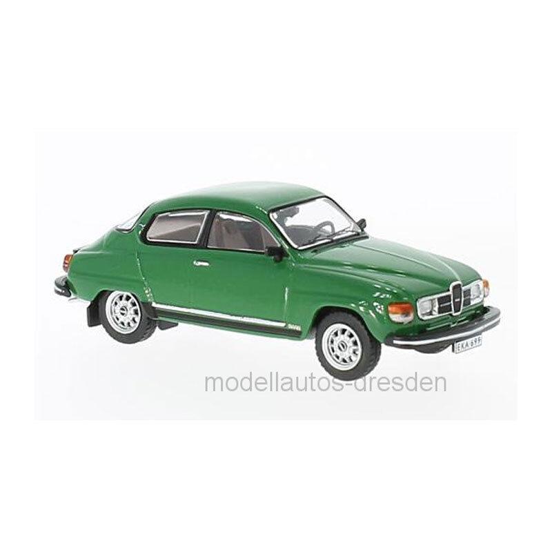 PremiumX PRXD561 Saab 96 V4 grün Maßstab 1 43 Modellauto NEU  °  | Verschiedene aktuelle Designs
