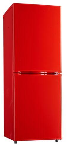 Réfrigérateur Stand Réfrigérateur Réfrigérateur Congélateur kühlkombi rouge Bon état stagner