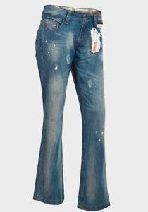 New-Boyfriend-Cut-Paintbrush-Distressed-Blue-Jeans-Trousers-Size-8-10-RRP-44