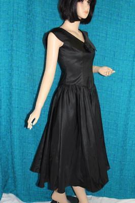 Prezzo Basso True Vintage Vtg Sera Abito Da Sera Dress Abito Da Sera Petticoat Taft S/m Evening Gown-mostra Il Titolo Originale