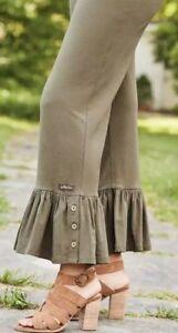 Matilda-Jane-TREETOPS-Big-Ruffles-S-Small-Olive-New-In-Bag-Pants-Womens