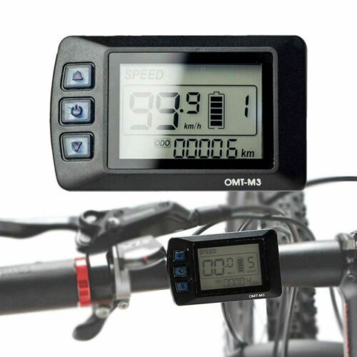 LCD Ebike Panel Display W/' Bracket 48V 1000W Electric Bike Bicycle Controller