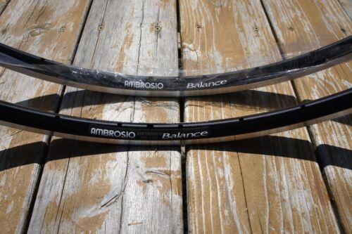 ready to go! strong aero NOS light Ambrosio Balance rim