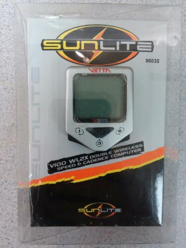 SunLite V100 WL2X Double Wireless Speed /& Cadence Computer 96035 Brand New!!