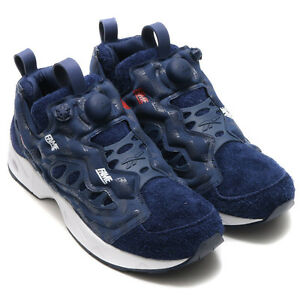 cb4caf1e6b37 Reebok Instapump Fury Pump Road HOF Hall of Fame Navy Red mmj atmos ...