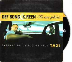 Def-Bond-amp-K-Reen-Tu-Me-Plais-CDS-1998-Hip-Hop-Rap-2TR-Cardsleeve-Taxi