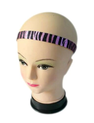 GLITTER HEADBAND Elastic Gold Silver Gold Colour Party Hairband Sequin Hair Band