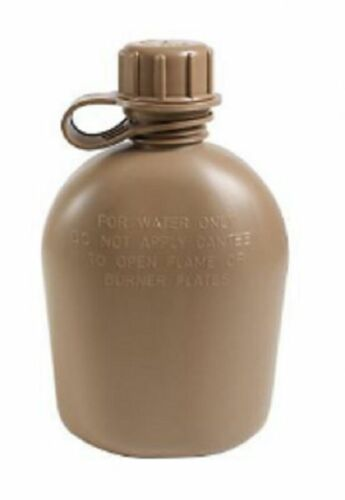 2 Stück US Marines Corps Army USMC Feldflasche Canteen Water bottle coyote brown
