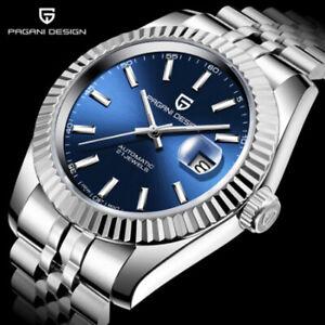 PAGANI DESIGN NH35A Men Mechanical Watch Top Brand Luxury Automatic Watch Date