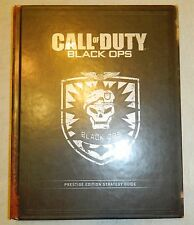 CALL OF DUTY BLACK OPS PRESTIGE EDITION STRATEGY GUIDE HC 2010 VIDEO GAMES