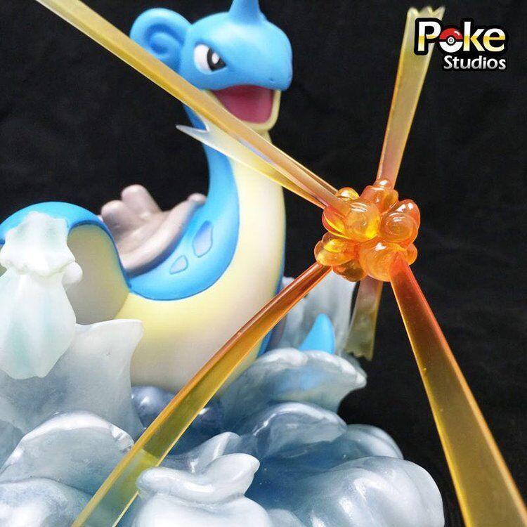 Poke Stuidos 16 cm Pokemon Lapras Batalla De Resina Estatua NUEVO