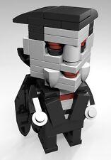 Constructibles® CubeVille Dracula - Halloween LEGO® Parts & Instructions Kit