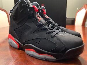4235da35d62015 Nike Air Jordan Retro 6 VI Black Infrared Size 10.5 2014 VNDS