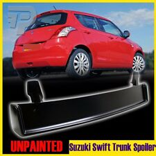 2010 Unpainted Suzuki Swift 4D Hatchback M-Look Rear Roof Spoiler Wing GLX