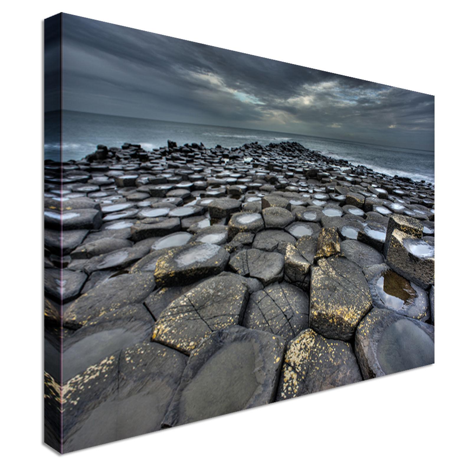 Giant's Causeway Canvas Wall Art prints high quality