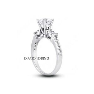 Fine Rings Fine Jewelry Official Website Diamond Ring Round Cut Agi Appraisal 14k White Gold Vvs1 Six Prong 1.08 Ct
