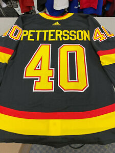 Elias Pettersson Vancouver Canucks Retro Black Skate Authentic Adidas Nhl Jersey Ebay