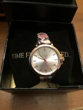 826589a78 item 1 NEW Ted Baker London Women s Rose Gold-tone Ruth Watch Floral Leather  Te50641001 -NEW Ted Baker London Women s Rose Gold-tone Ruth Watch Floral  ...