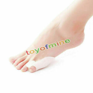 2-x-Silicone-Gel-Little-Toe-Separator-Straighteners-Alignment-Bunion-Pain-Relief