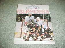 1982 New York Islanders v Washington Capitals Hockey Program 12/23