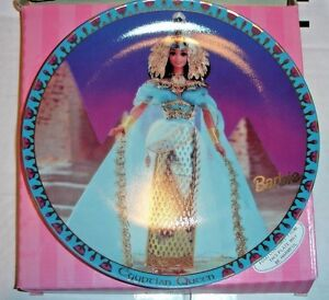 Barbie-Egyptian-Queen-Collector-Plate-17493-with-Box-2680-out-of-7500