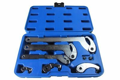 Bergen Adjustable Hook And Pin Wrench / Spanner / C Spanner 35-120mm 6pcs B6808