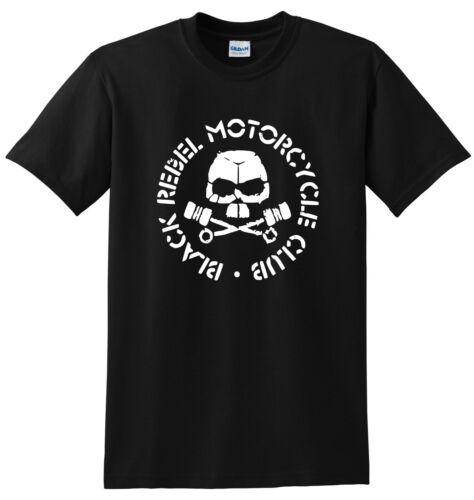 Black Rebel Motorcycle Club Logo Black T-shirt Free delivery