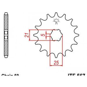 Pignon-acier-17-dents-jt-chaine-530-yamaha-xs400-Jt-sprockets-JTF567-17