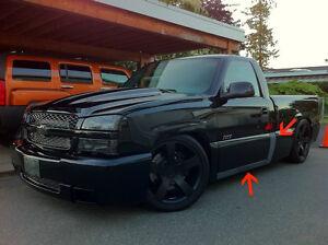 Chevrolet Silverado Ss Cladding Single Cab Amp Rocker Panels