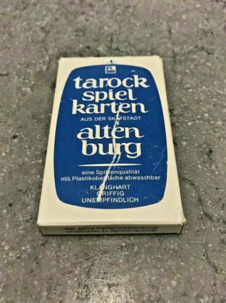 Vintage Fournier Tarock Cards Made In Spain Complete 36 Card Deck