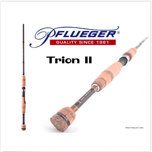 Pflueger Trion PFLTII-SP661L Spin Fishing Rod 2-4kg 6'6