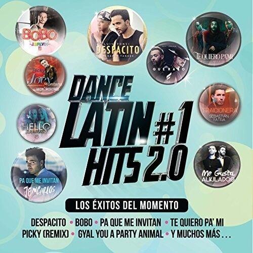Various Artists - Dance Latin #1 Hits 2.0 (Various Artists) [New CD]