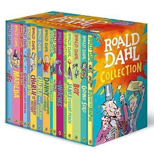 Roald Dahl 16 Books Collection Pack Paperback Box Set Sealed - 9780241377291