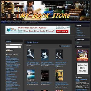 BOOK-STORE-Complete-Turnkey-Website-FREE-Amazon-amp-Google-Affiliate-ID-Setup