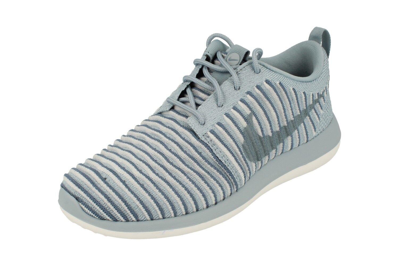 Nike Da Donna Rosherun Flyknit due in esecuzione Scarpe da ginnastica 844929 Scarpe da ginnastica scarpe 400