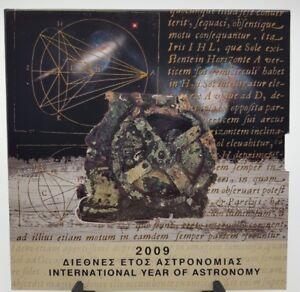 Greece 2009 Bu Euro Set 8 Coins & 10 Euros Silver Proof Astronomy Grecia Zwhn3bkl-07233746-574394454
