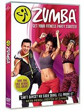 Zumba Dance [DVD] Get your fitness party started. New and sealed, Free Delivery.