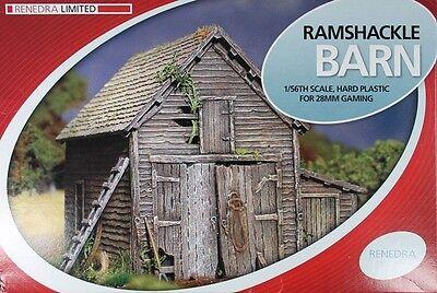 100% QualitäT Renedra Generics - Ramshackle Barn - 28mm Komplette Artikelauswahl