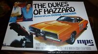 Mpc 1969 Charger Dukes Of Hazzard General Lee Model Car Mountain Kit 706