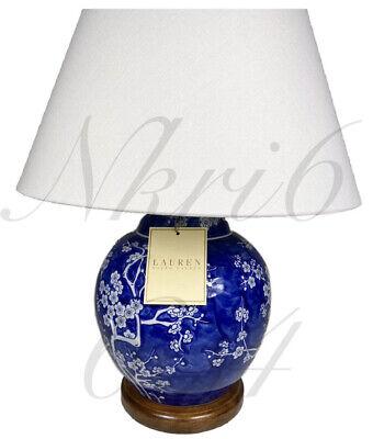 New Ralph Lauren Porcelain Mandarin, Ralph Lauren Blue And White Dragon Lamp